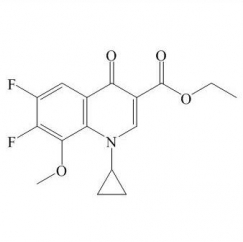 1-Cyclopropyl-6,7-difluoro-1,4-dihydro-8-methoxy-4-oxo-3-quinolinecarboxylic acid ethyl ester
